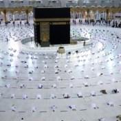 Ook in Mekka moeten bedevaarders afstand houden