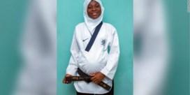 Hoogzwangere atlete wint gouden medaille taekwondo