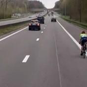 Renster mist afslag tijdens Brabantse Pijl en belandt op Brusselse ring