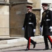 Britse royals niet in militair uniform naar begrafenis omwille van prins Harry