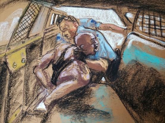 Agent Derek Chauvin weigert ondervraging en blijft zwijgen