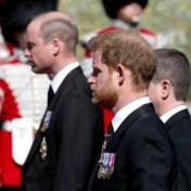 Opvallende beelden na begrafenis: Harry en William praten weer met elkaar