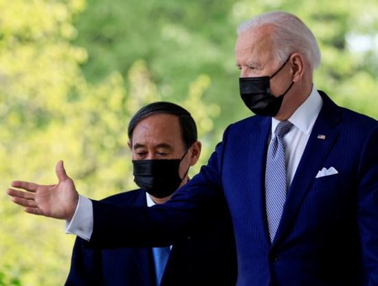 Biden en Japanse premier verenigen krachten tegen Chinese assertiviteit