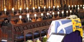 Britse prins Philip begraven: zo verliep de plechtigheid