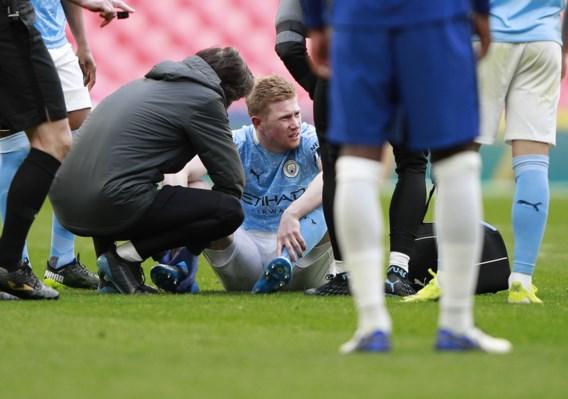 Geen FA Cup-finale voor Manchester City, De Bruyne valt geblesseerd uit