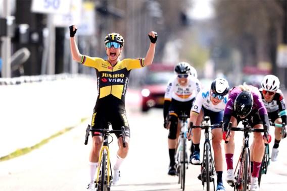Marianne Vos wint Amstel Gold Race, volledig Nederlands podium