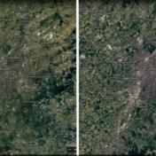 Satellietbeelden tonen hoe Brussel gegroeid is in 37 jaar