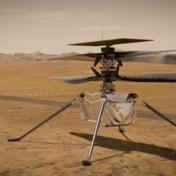 Helikopter Ingenuity voert historische vlucht uit op Mars
