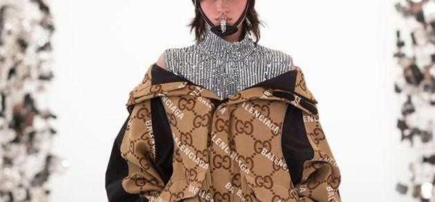 Jarig Gucci 'hackt' Balenciaga