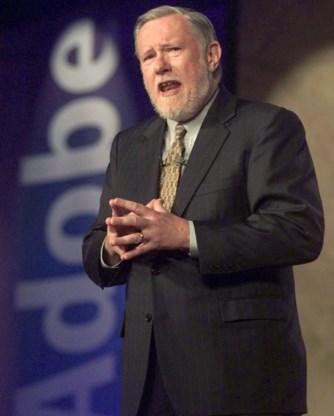 Uitvinder van pdf-formaat Chuck Geschke overleden (81)