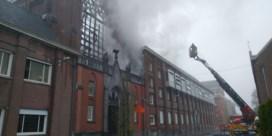 Kloosterzusters ontsnappen aan felle brand die eeuwenoude kapel vernielt