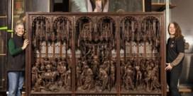 Het 'Lam Gods van de beeldhouwkunst' was verkeerd gemonteerd