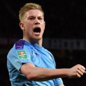 Kevin De Bruyne traint met de groep bij Manchester City en haalt mogelijk toch finale League Cup