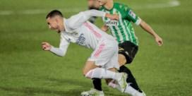 Eden Hazard viert comeback, maar kan met Real Madrid niet winnen van Betis