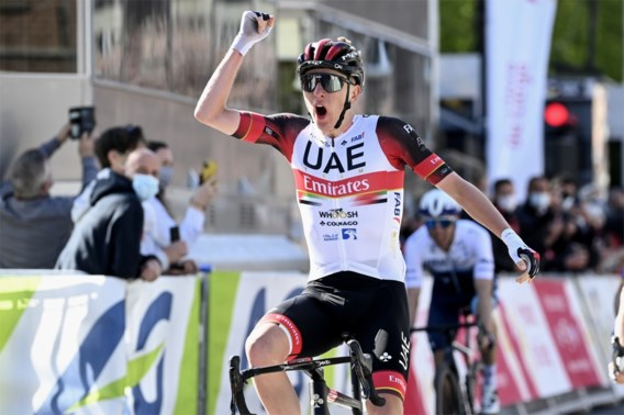 Pogacar wint Luik-Bastenaken-Luik na sprint met elitegroepje