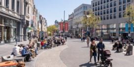 Antwerpse winkelstraten zo goed als leeg
