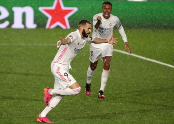 Real Madrid blijft steken op gelijkspel tegen Chelsea