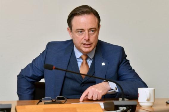 De Wever: 'De brief van El Kaouakibi kwam niet uit de lucht vallen'