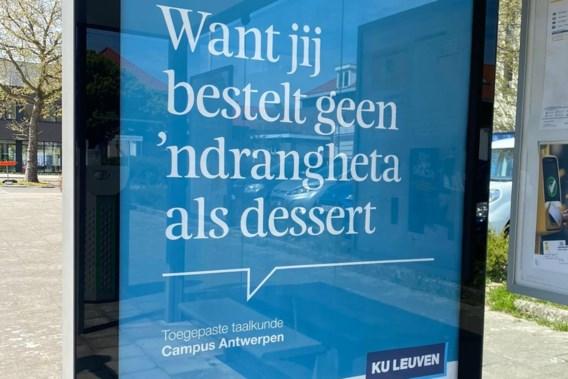 KU Leuven trekt controversiële reclameslogan in