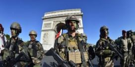 Sancties tegen 18 Franse militairen na 'oproep tot verzet'