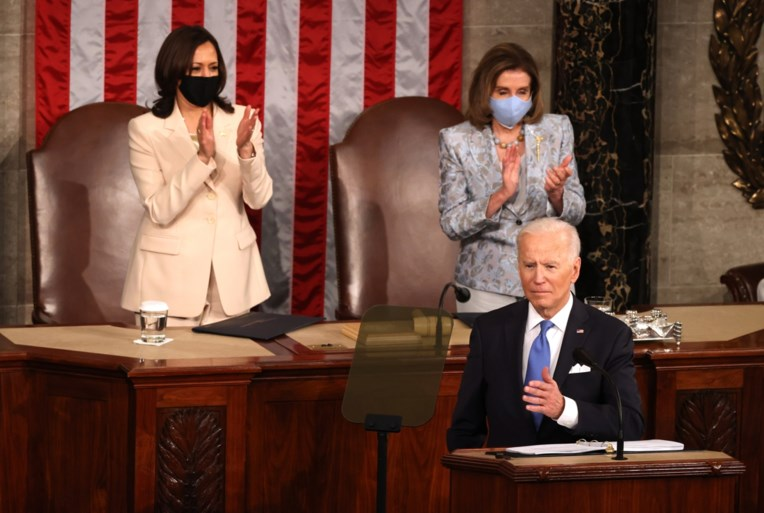 As cinco principais conclusões após o primeiro discurso de Biden perante todo o Congresso dos EUA