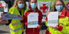 Stickeractie van Rode Kruis-Vlaanderen lijdt onder coronacrisis