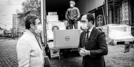 Eerste van 12.000 laptops voor magistraten aangekomen