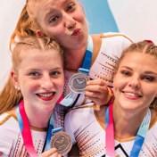 Belgische meisjes pakken brons in teamfinale tumbling op EK