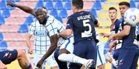 Lukaku helpt Inter met assist aan nieuwe zege in race naar titel
