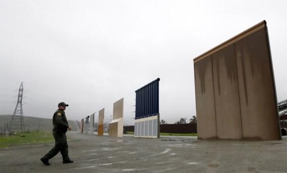 Budget voor bouw van grensmuur Trump definitief geschrapt