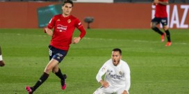 Hazard viert eerste basisplaats in drie maanden met overwinning met Real Madrid