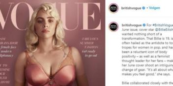 Een nieuwe look voor Billie Eilish