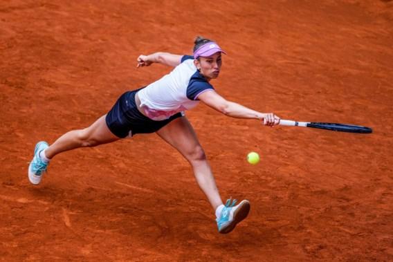 Mertens na winst tegen Rybakina: 'Ik was wellicht de regelmatigste'