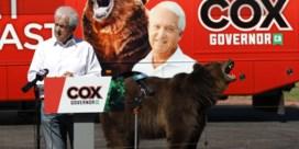 Oud-presidentskandidaat VS voert grizzly op in politieke campagne