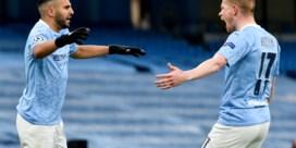 Kevin De Bruyne en Manchester City-spelers zetten kleedkamer op stelten
