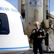 Bedrijf Jeff Bezos plant in juli eerste toeristische ruimtereis