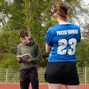 'Ik schrijf zoals ik voetbal: vanuit mijn intuïtie'
