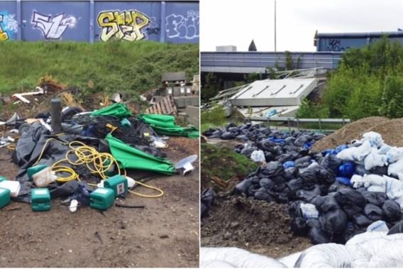 Cannabiskwekers dumpen materiaal in Anderlecht