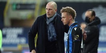 Clement had gesprek met Noa Lang over toekomst bij Club Brugge: 'Hij beslist pas na het seizoen'