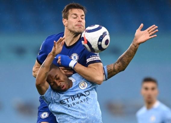 Manchester City verliest generale repetitie tegen Chelsea en is nog geen Engels landskampioen