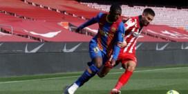 Geen goals in topper tussen Barcelona en Atletico: Spaanse titelstrijd blijft spannend