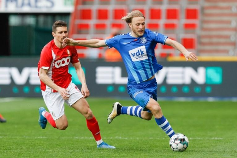 Standard buigt achterstand om en wipt over AA Gent in Europe play-offs
