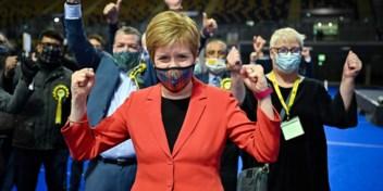 Sturgeon eist nieuw Schots referendum na verkiezingsoverwinning, Johnson pleit voor eenheid