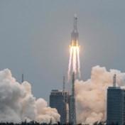 Chinese raket neergestort boven Indische Oceaan