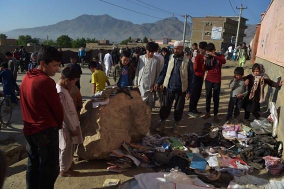 Minstens vijftig doden na explosie nabij school in Kaboel
