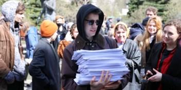 Moskouse politie pakt kritische leden studentenblad op