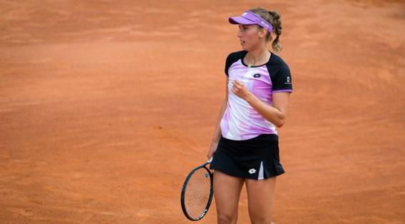 Elise Mertens last pauze in tot Roland Garros: 'Mijn lichaam moet rusten'