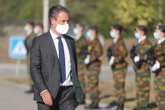 Oud-minister van Defensie Philippe Goffin (MR) werd met een kluitje het riet ingestuurd.