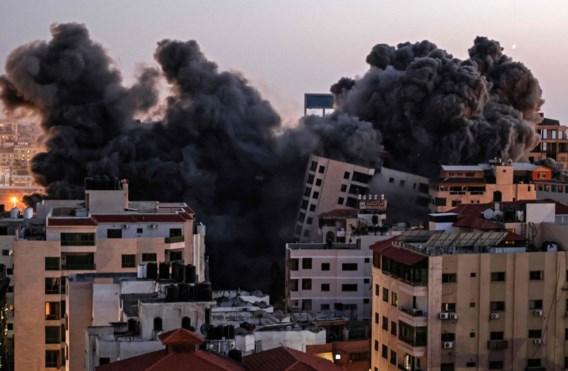 Betogingen maken plaats voor spervuur van Gaza-bommen