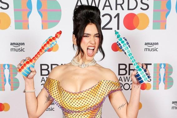 Dua Lipa domineert zeer vrouwelijke editie van de Brit Awards